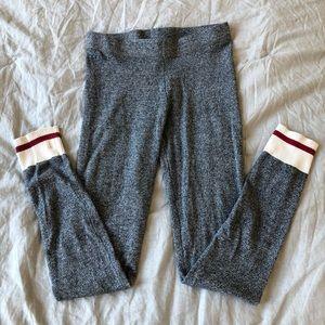 Classic retro style gray leggings